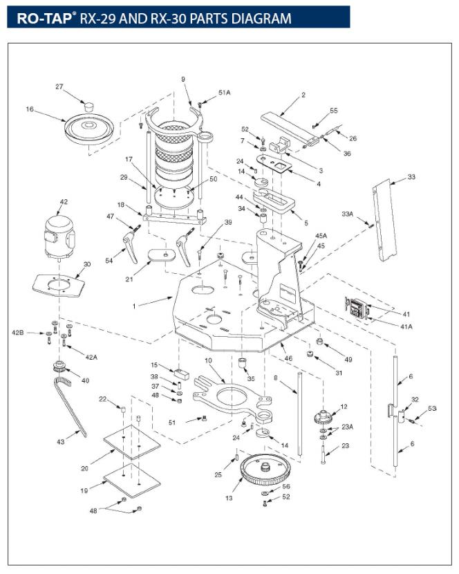 RO-TAP-Sieve-Shaker-Parts-Diagram