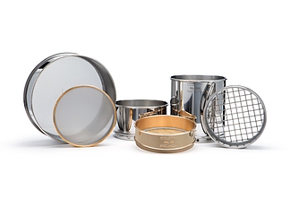 WS Tyler Test Sieves stainless and brass
