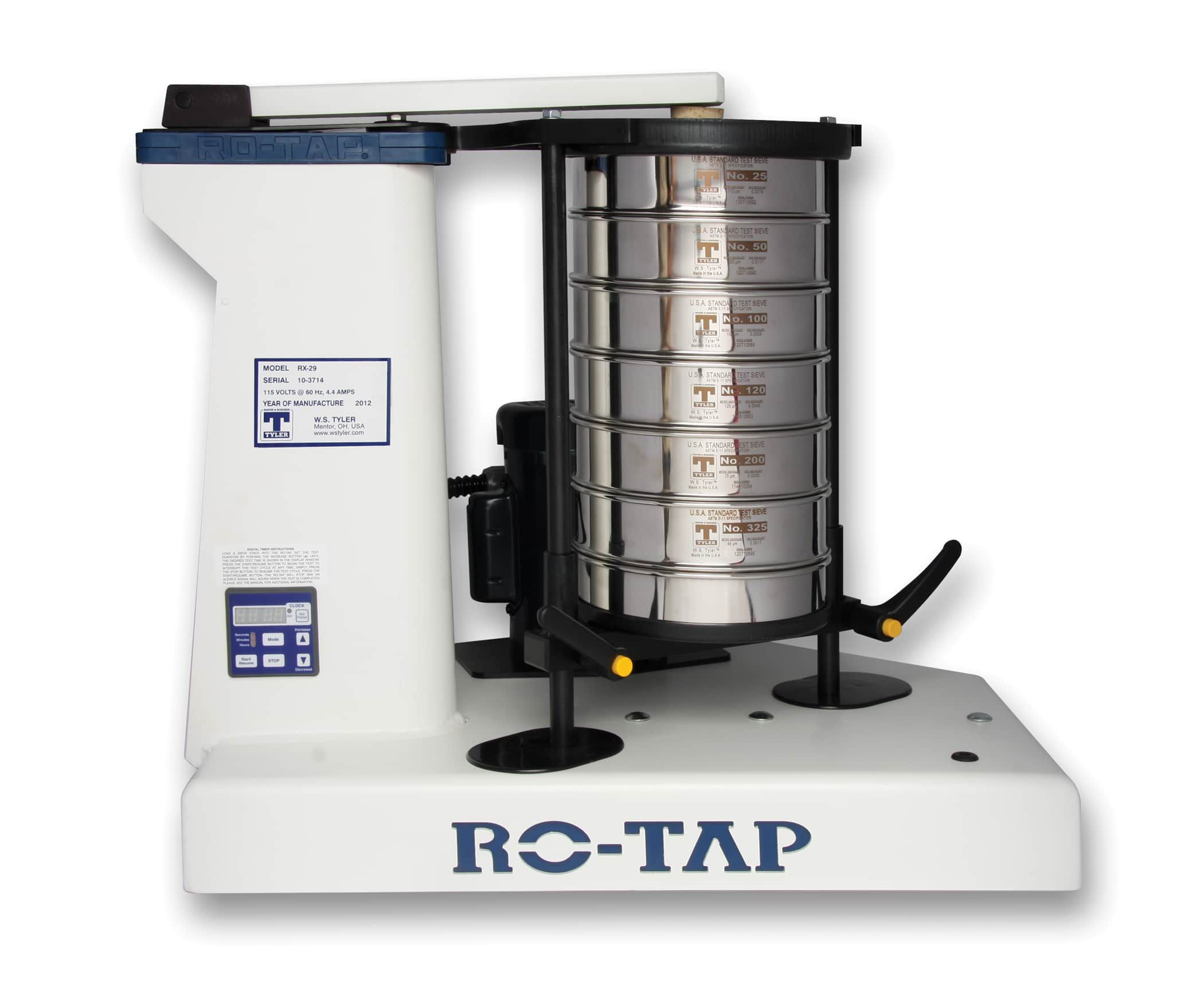 What to Do If Your RO-TAP® Sieve Shaker Is Out of Spec