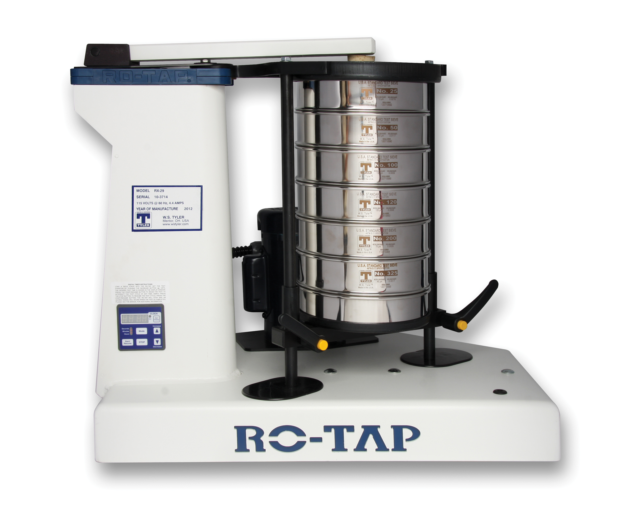 What Is a RO-TAP®Sieve Shaker? (Definition, Types, and Calibration + Video)